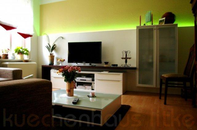 wohnzimmer beleuchtung modern raum und m beldesign. Black Bedroom Furniture Sets. Home Design Ideas